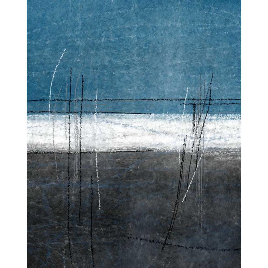 Πίνακας ζωφραγικής Abstract γραμμές