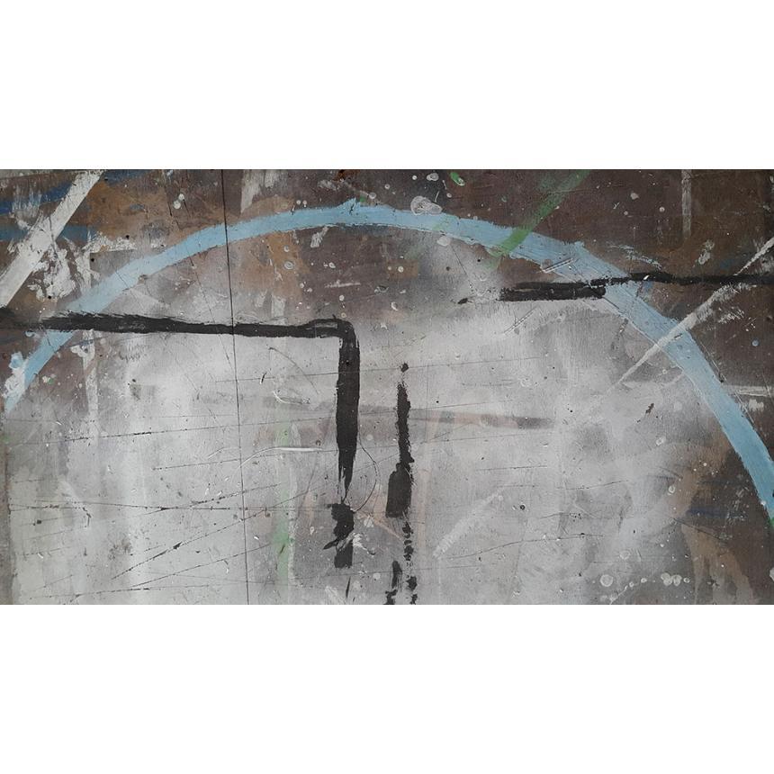 Πίνακας ζωγραφικής Abstract ημικύκλιο