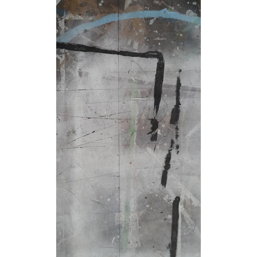 Πίνακας Abstract γκρι γωνία