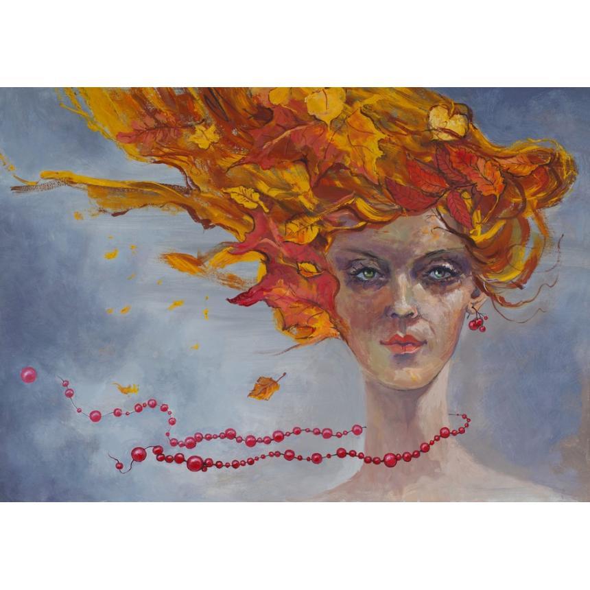 Πίνακας Γυναικεία φιγούρα Άνεμος