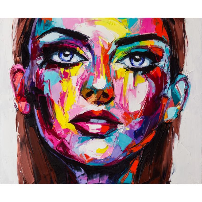 Abstract γυναικείο πρόσωπο