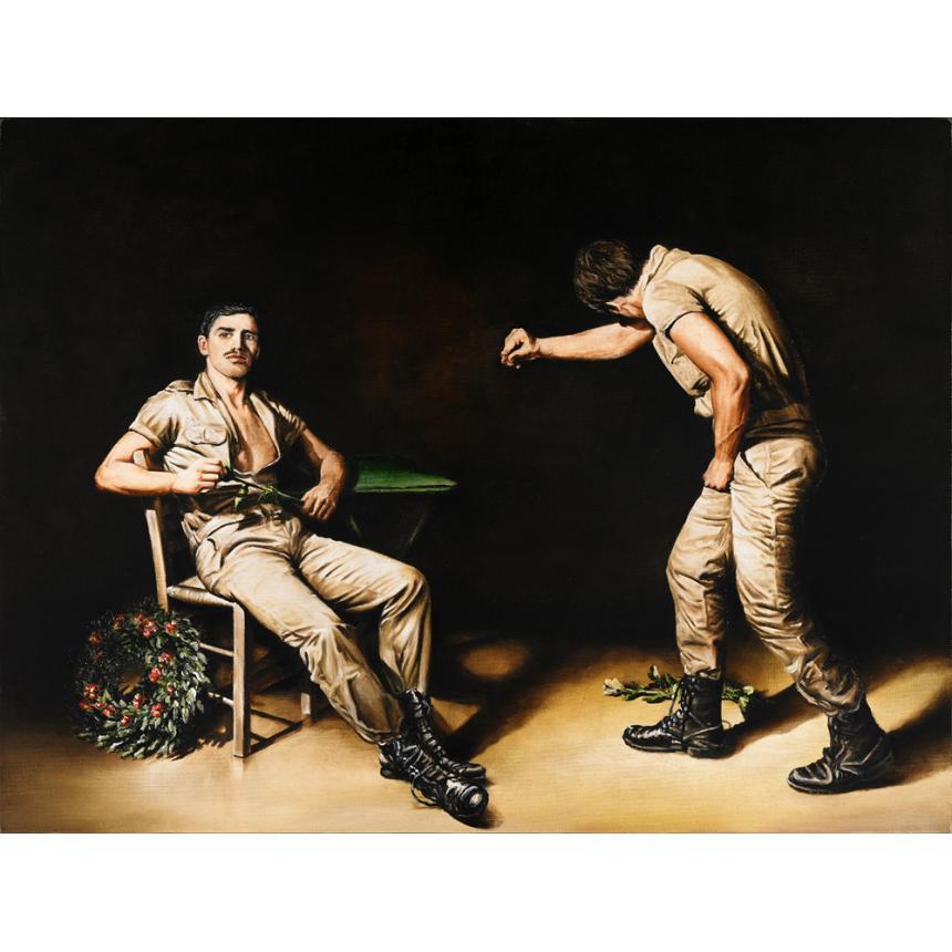 Πίνακας Ζεϊμπέκικο Ι- Τιμή στον Γ.Τσαρούχη