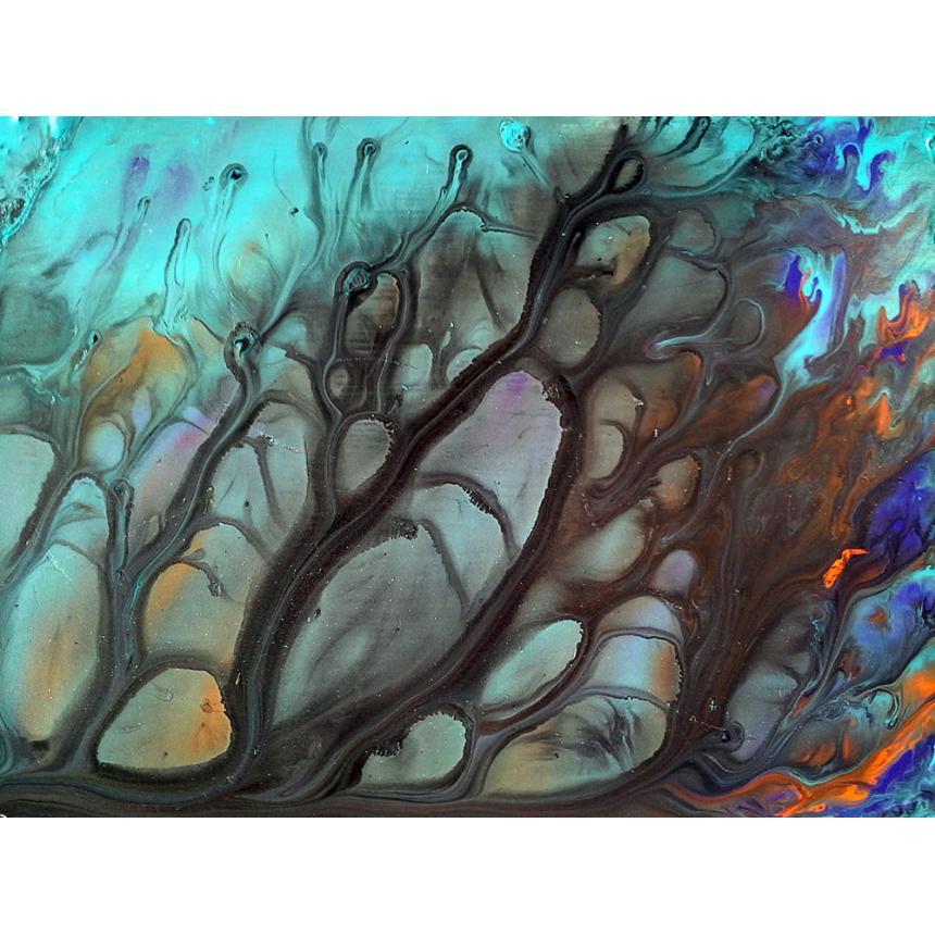 Πίνακας Abstract χρωματικά σχέδια