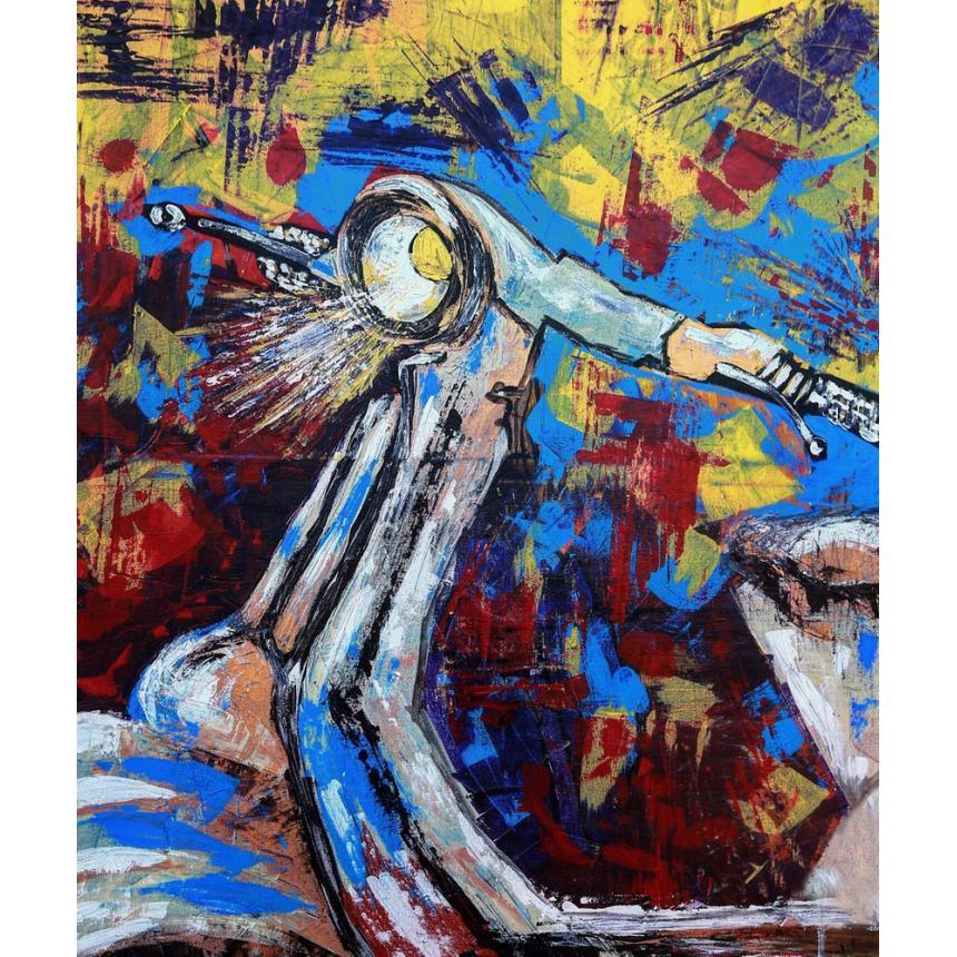 Πίνακας Vespa multicolor