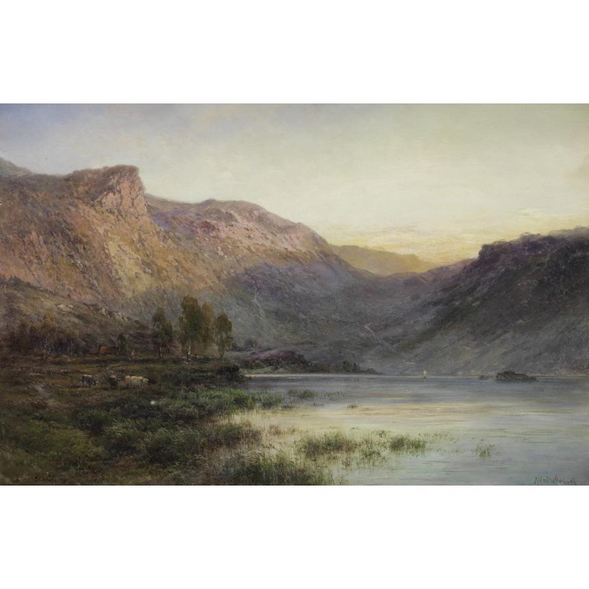 Πίνακας Τοπίο στο βουνό