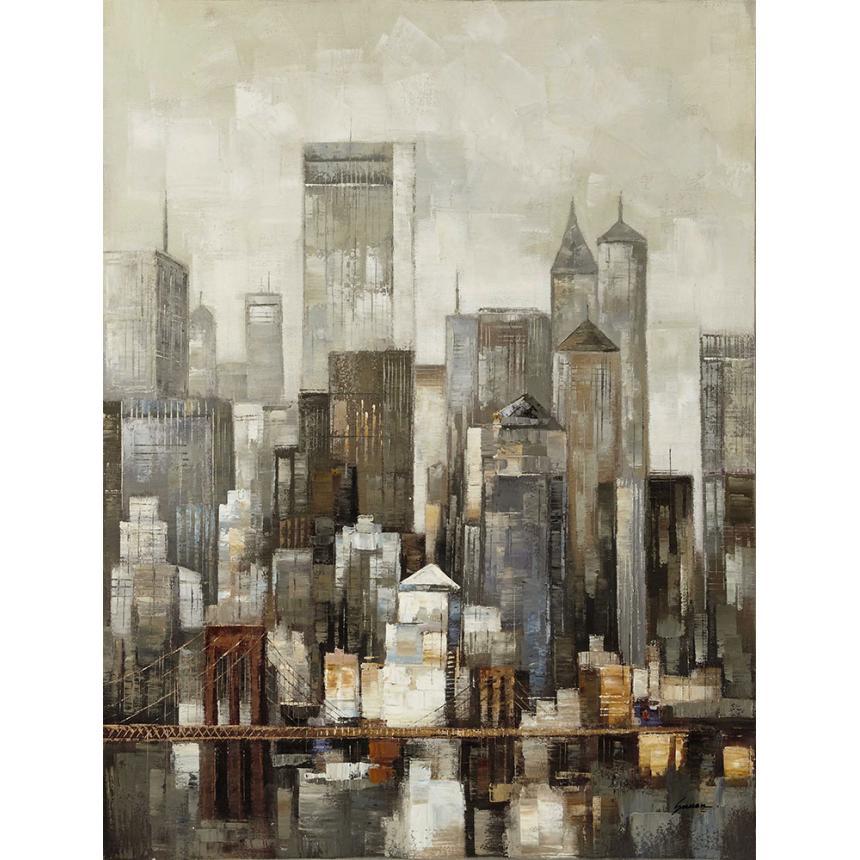 Πίνακας NYC Brooklyn Bridge Industrial