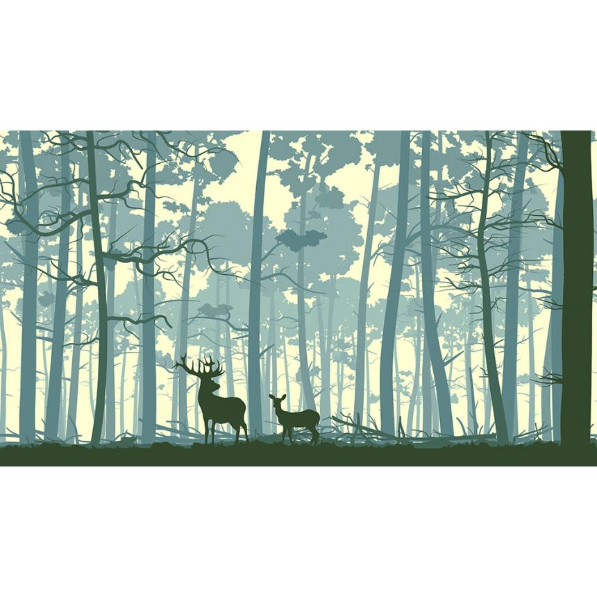 Ελάφια στο Δάσος