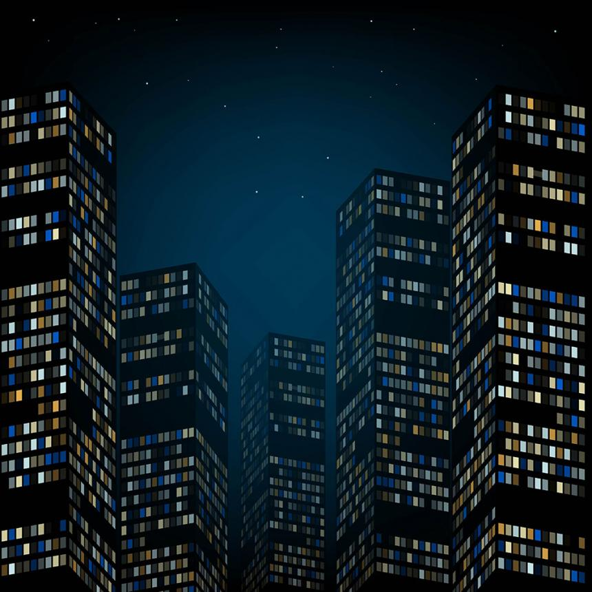 Παράθυρα σε ουρανοξύστες