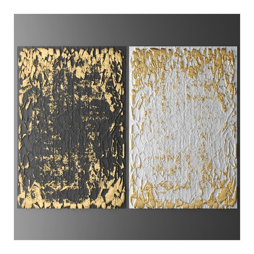 Abstract Χρυσές πινελιές