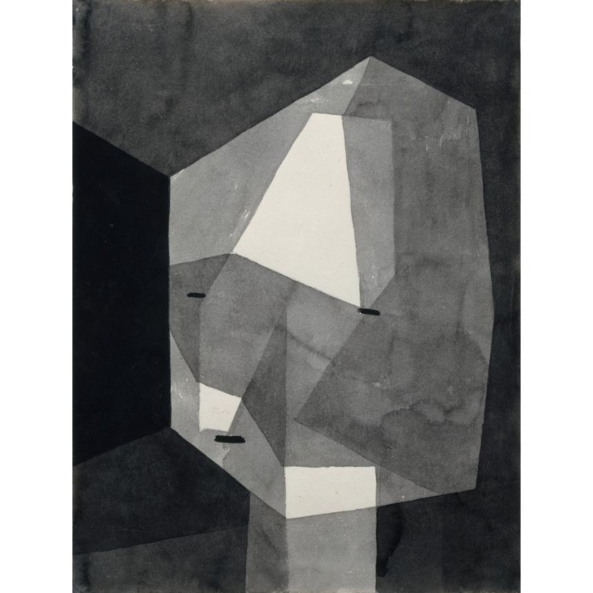 Πίνακας Paul Klee - Rough Cut Head