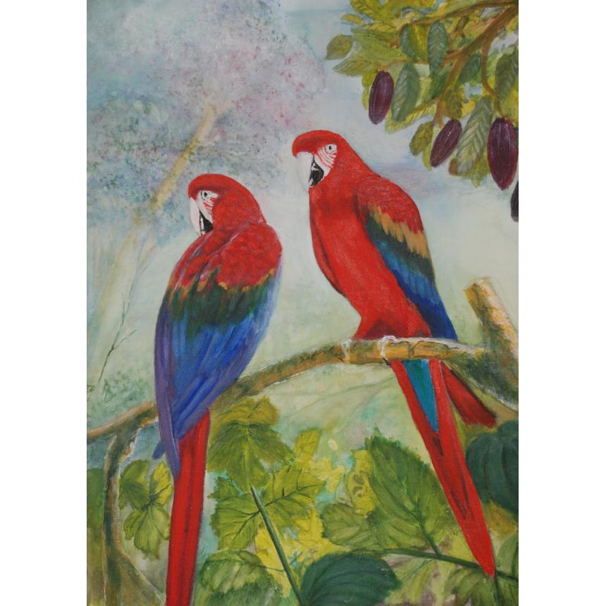 Πίνακας ζωγραφικής Παπαγάλοι