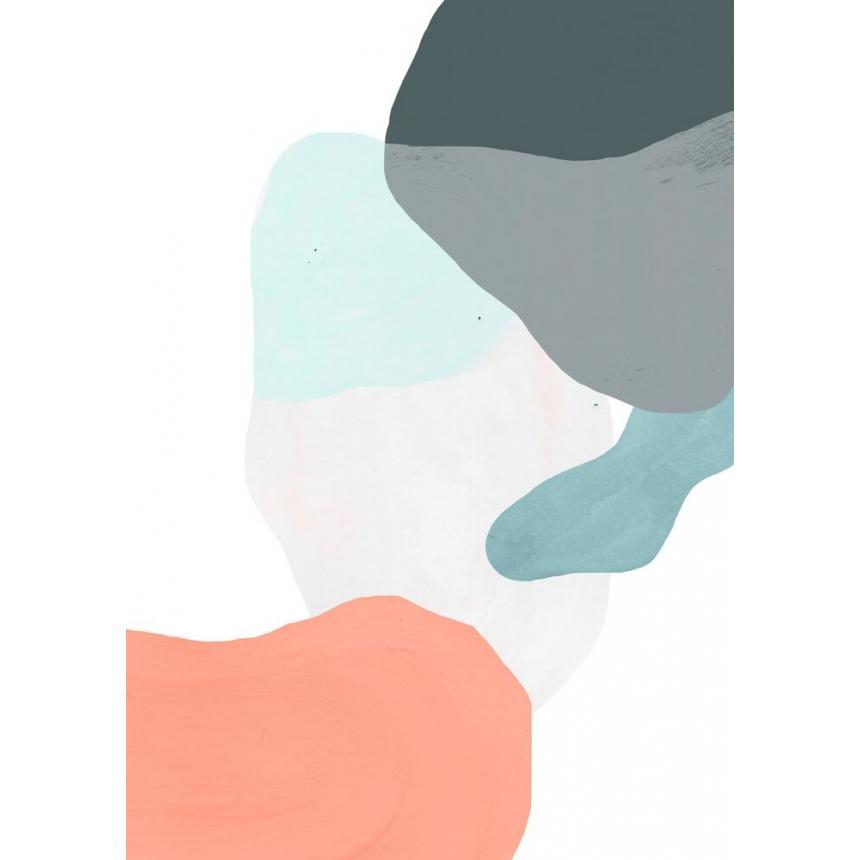 Πίνακας Γεωμετρικό με χρώματα