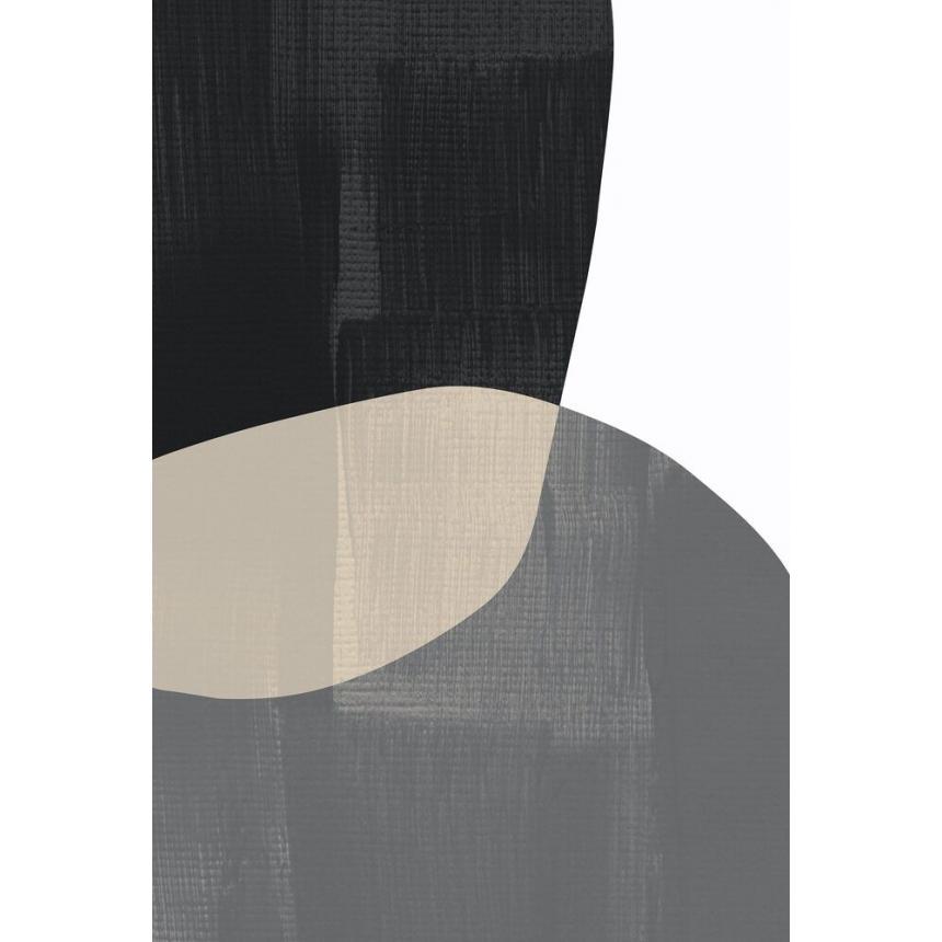 Πίνακας Γεωμετρικό μαύρο