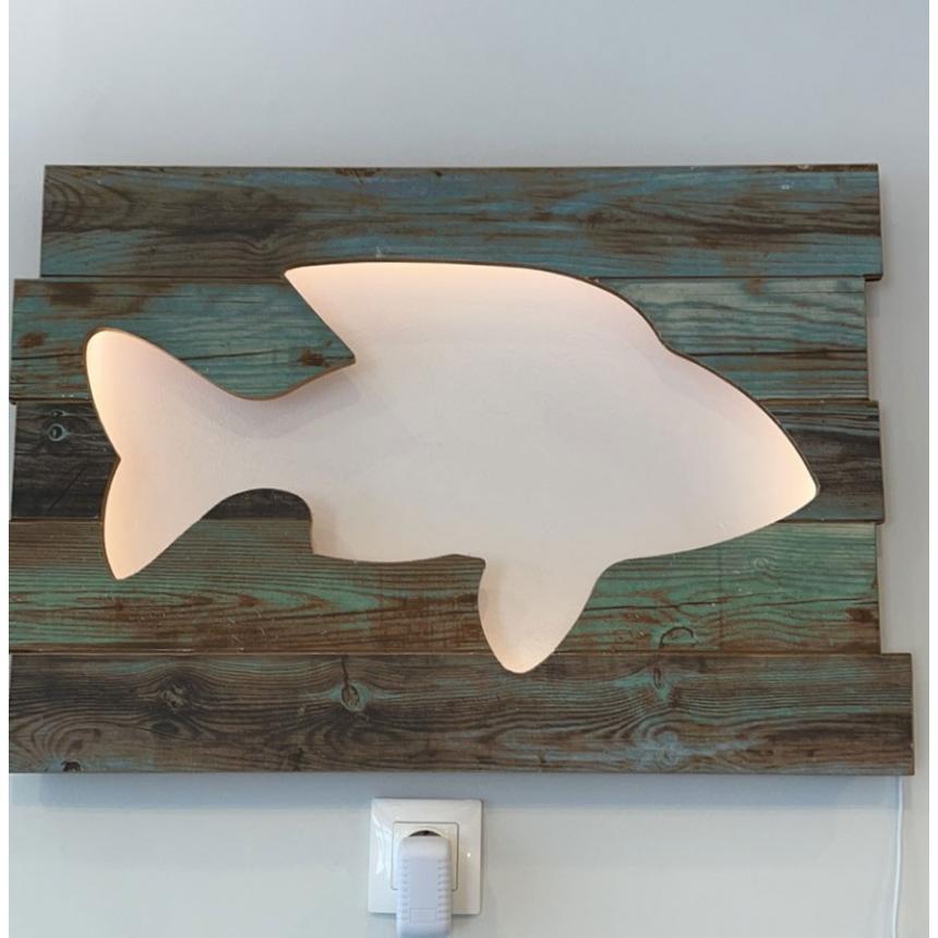 Πίνακας φωτιστικό ψάρι