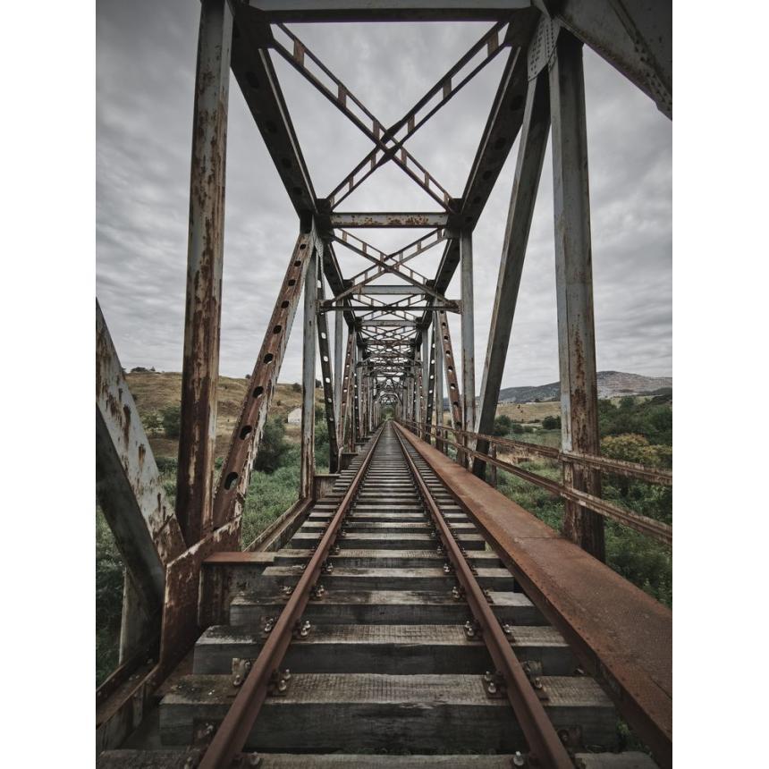 Πίνακας Σιδιροδρομική γέφυρα