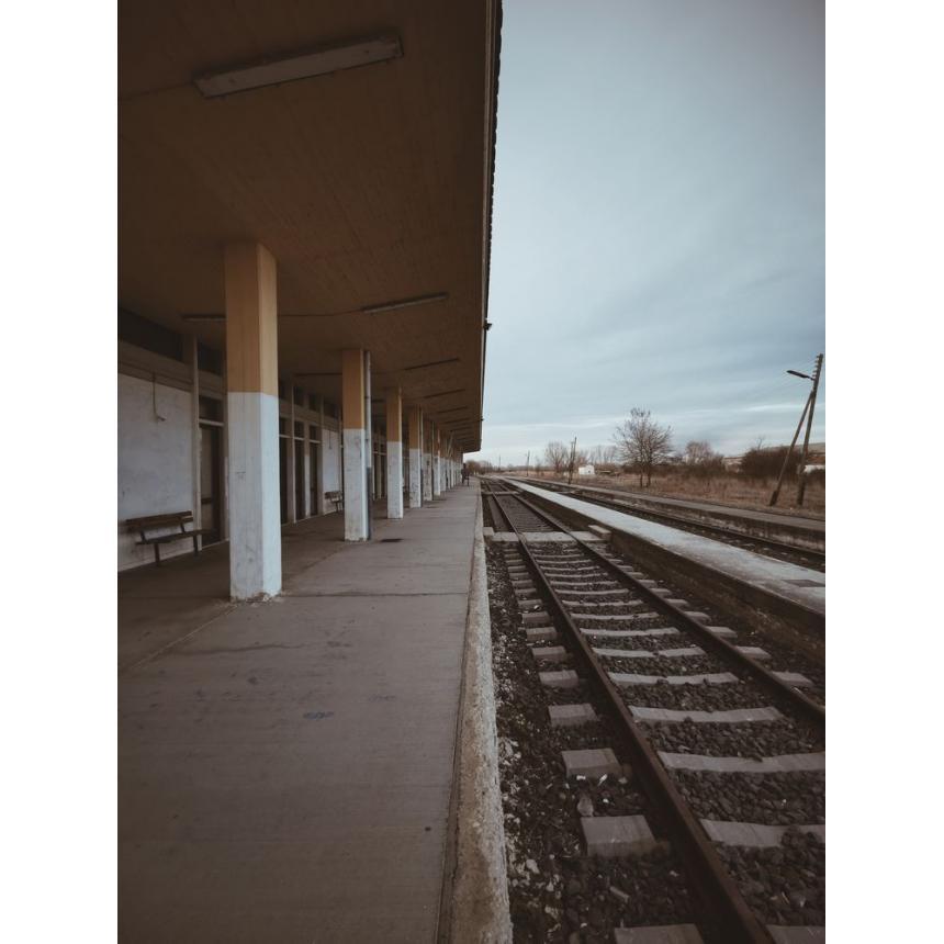 Πίνακας Σιδηροδρομικός σταθμός