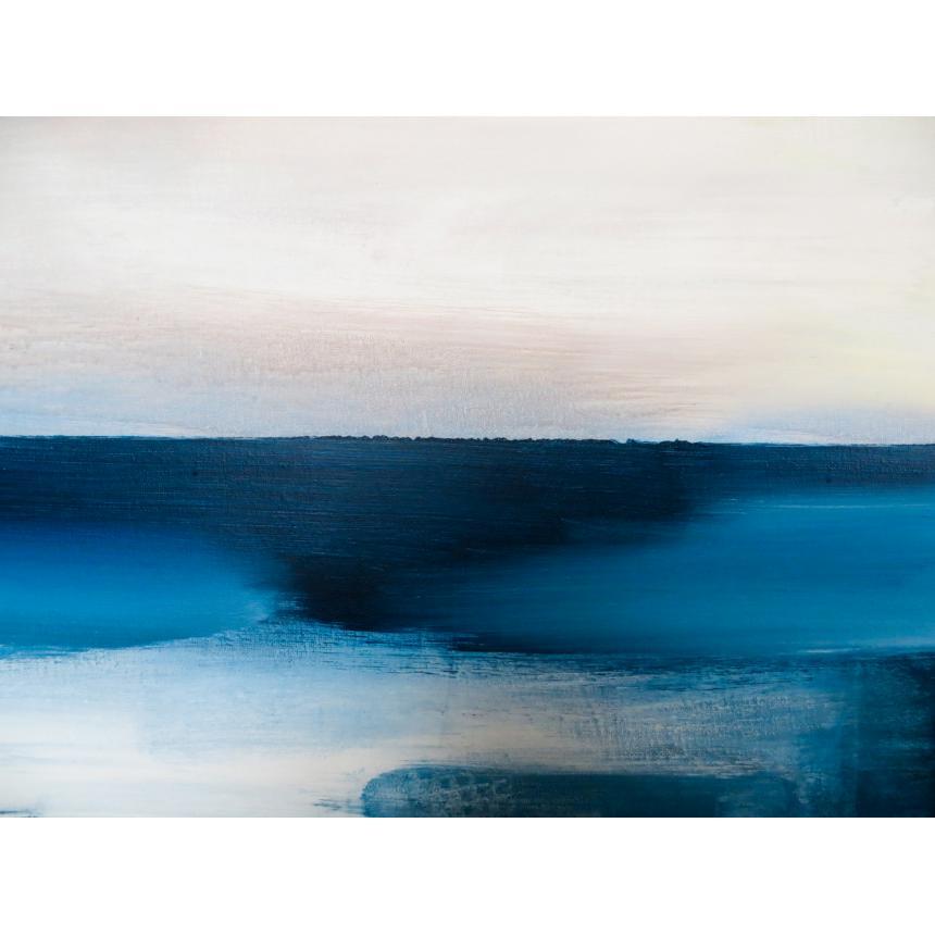 Πίνακας Abstract blu ορίζοντας