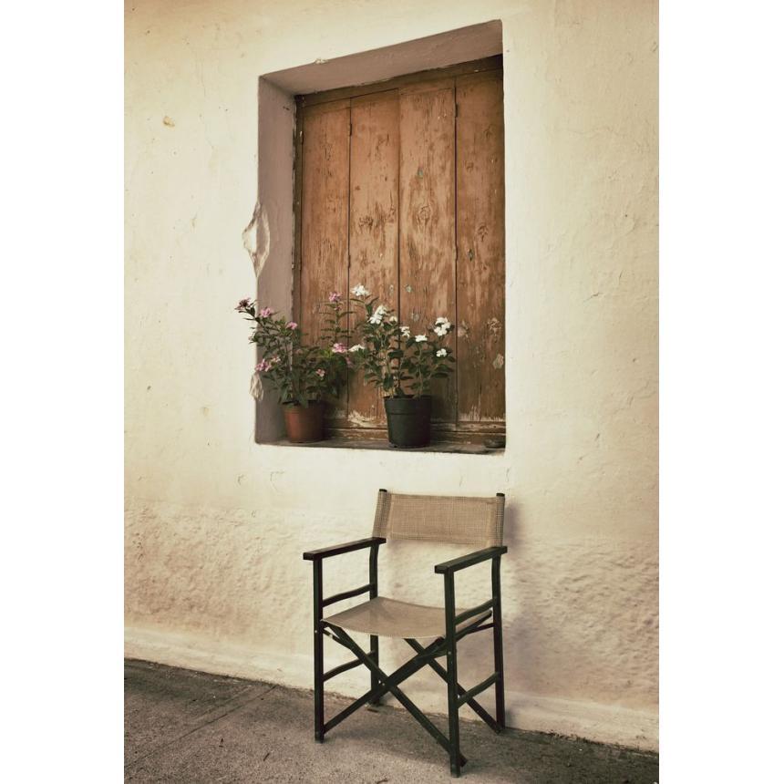 Πίνακας Καρέκλα με Παράθυρο