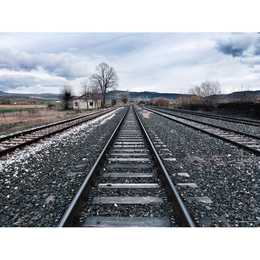 Πίνακας Ράγες τρένου
