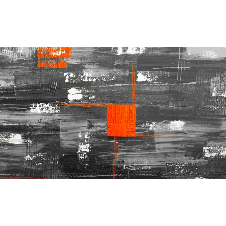 Πίνακας Abstract  γκρί