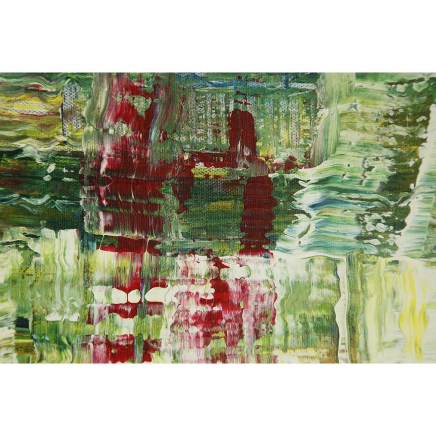 Πίνακας Abstract πράσινο