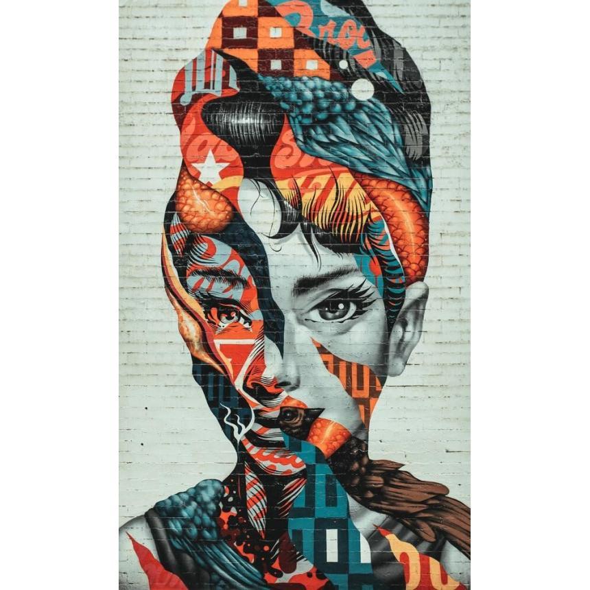 Πίνακας πρόσωπο collage