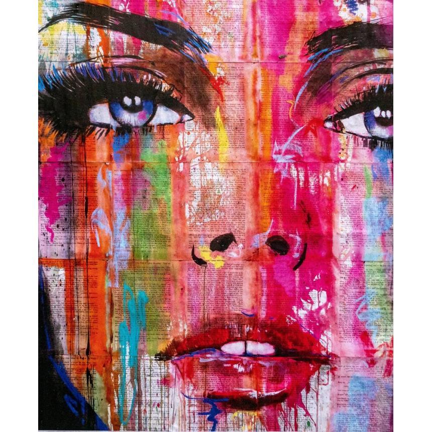 Πίνακας Γυναικείο πρόσωπο