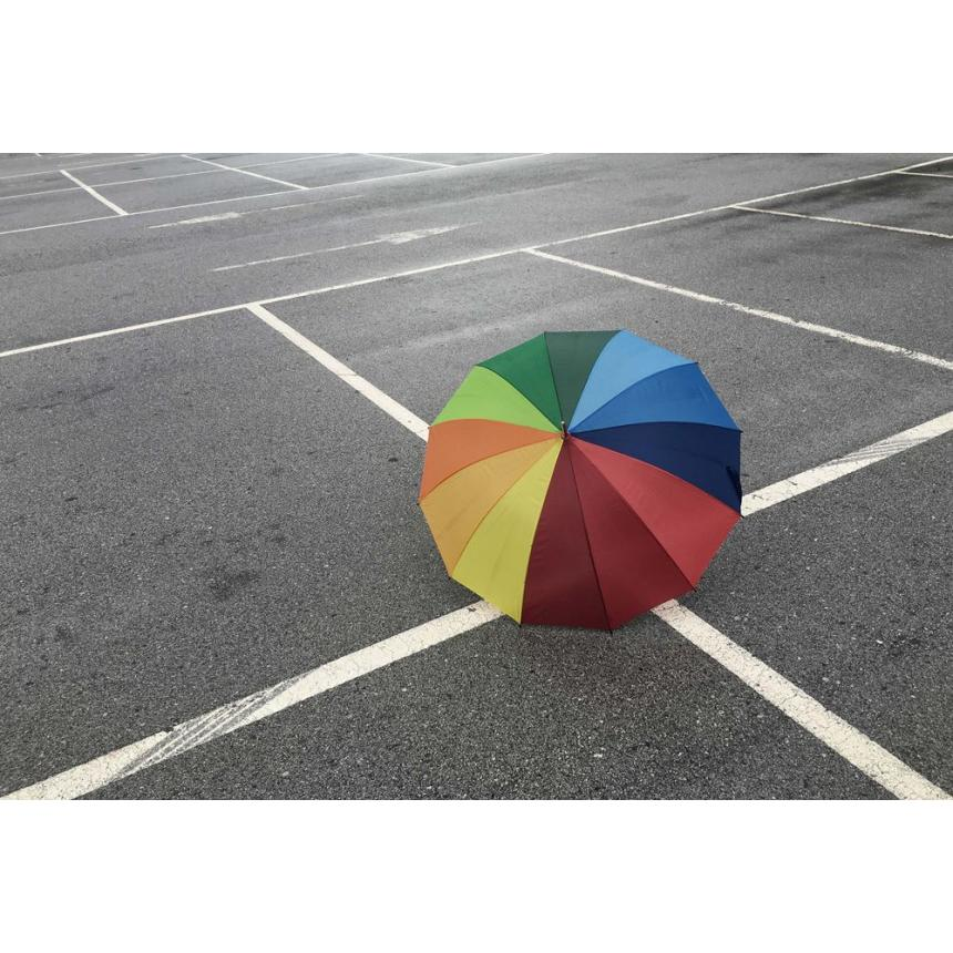 Πίνακας Πολύχρωμη ομπρέλα