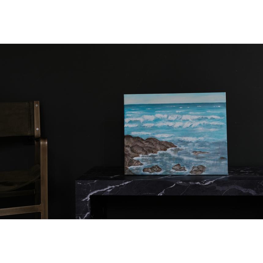 Πίνακας βράχια στη θάλασσα