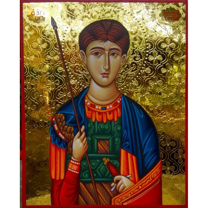 Αγιογραφία Άγιος Δημήτριος