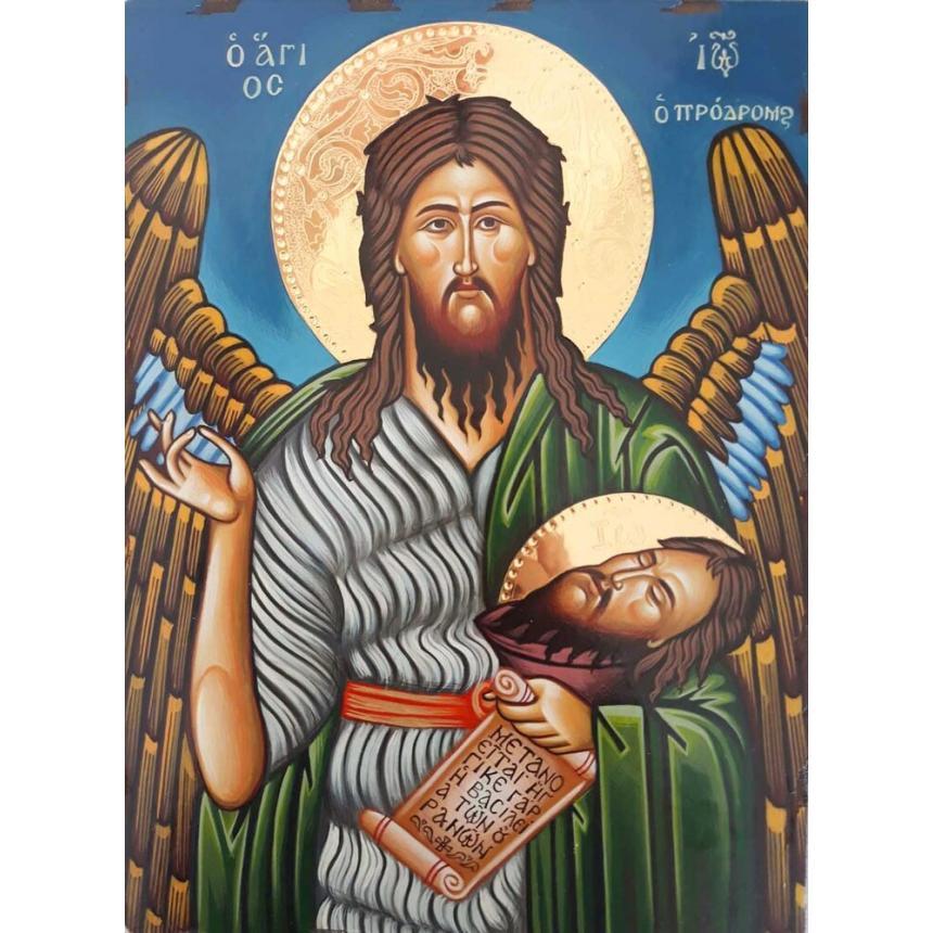 Αγιογραφία Άγιος Ιωάννης