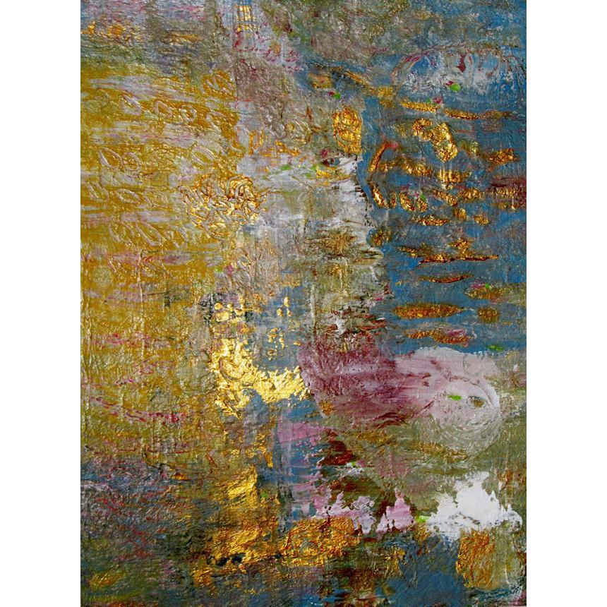 Abstract με χρυσές λεπτομέρειες