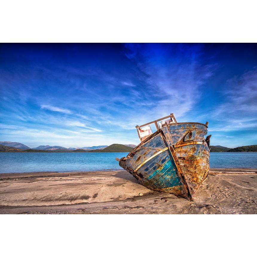 Πίνακας Βάρκα / Blue sky