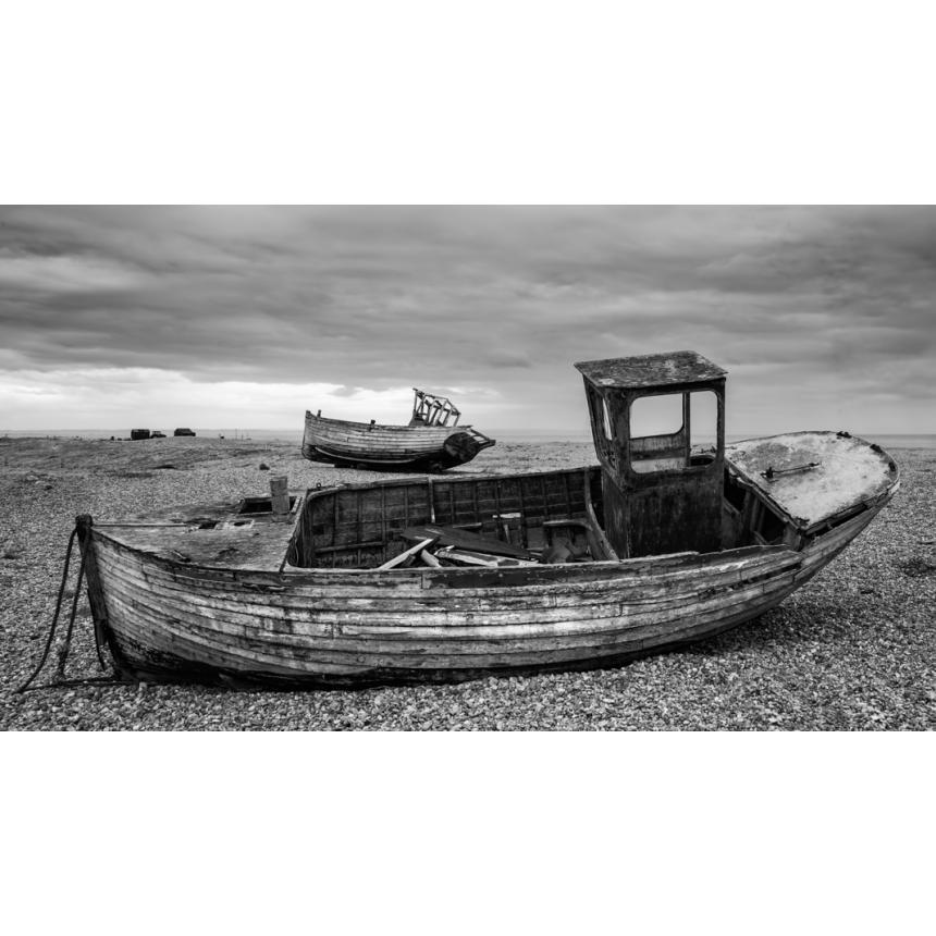 Βάρκα  b&w