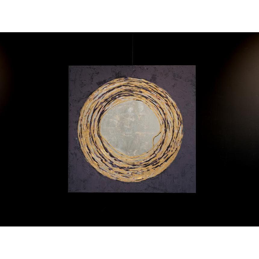 Πίνακας Abstract Χρυσός κύκλος