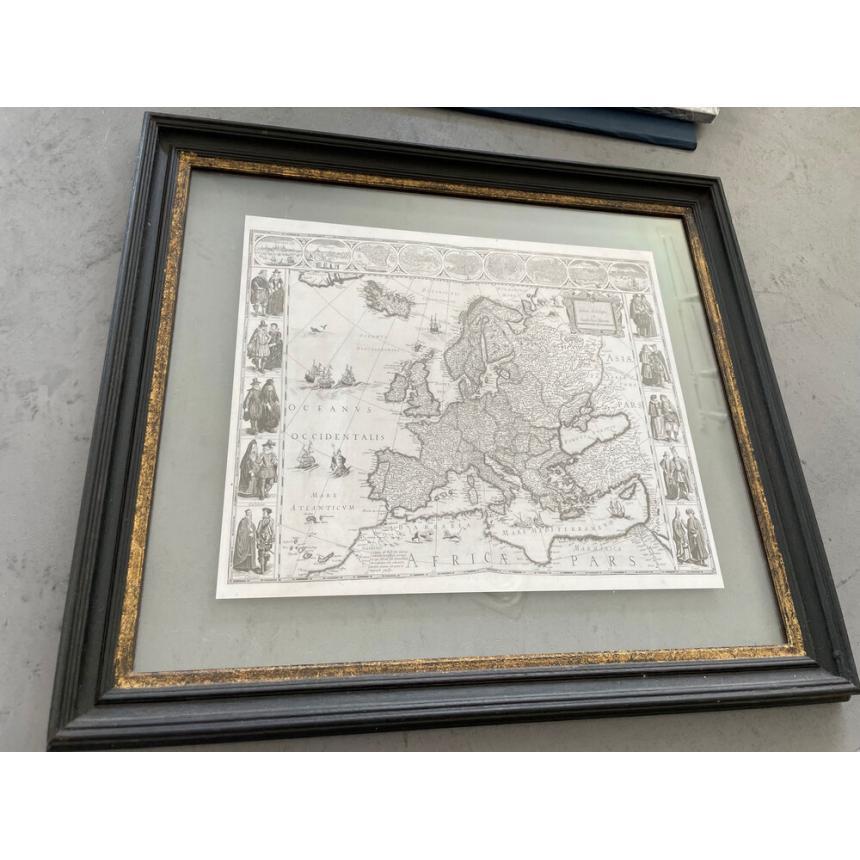 Πίνακας Πανευρωπαϊκός χάρτης