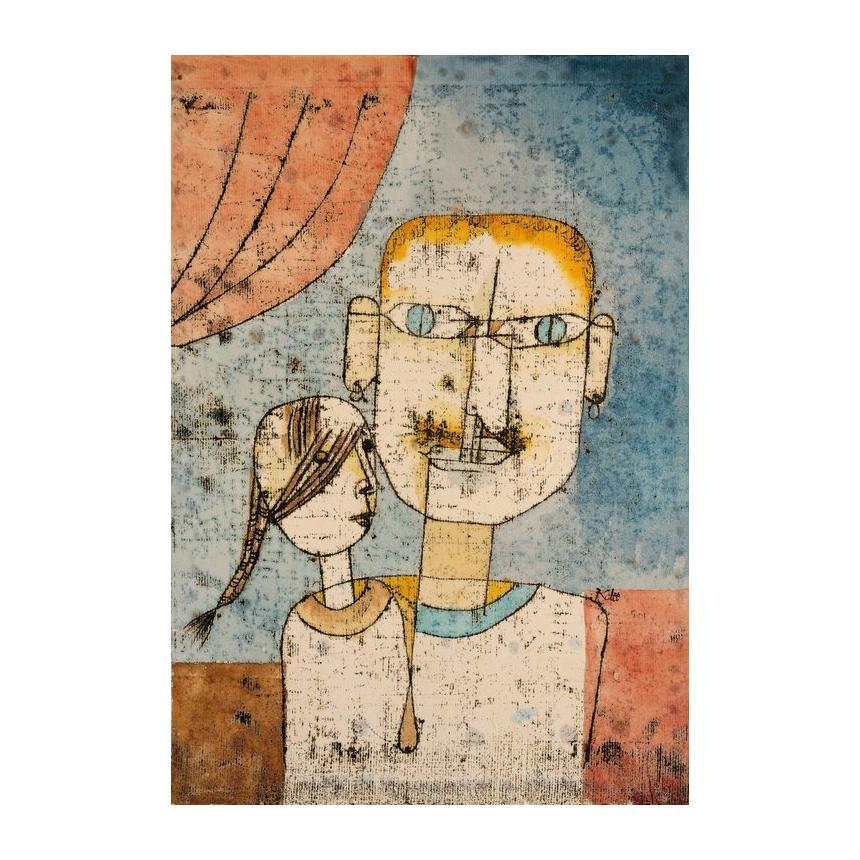 Πίνακας Paul Klee - Adam and Little Eve 1921