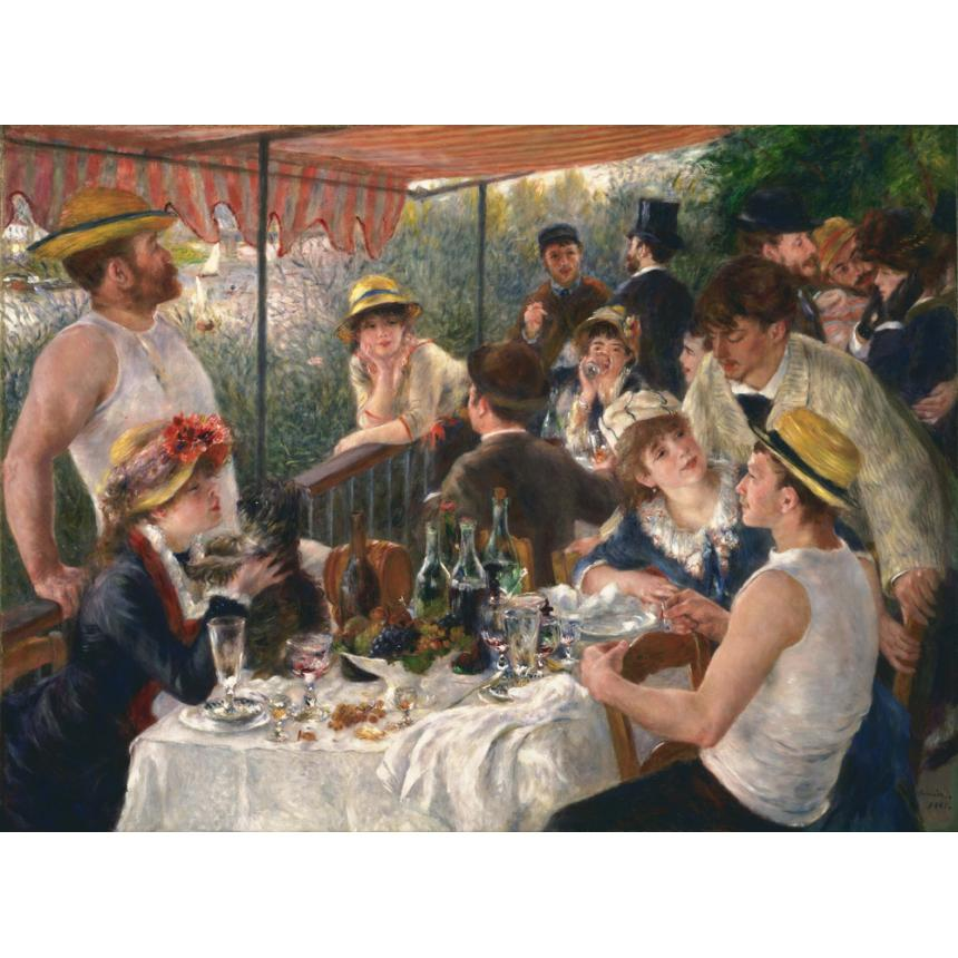 Pierre Auguste Renoir - Luncheon of the Boating Party