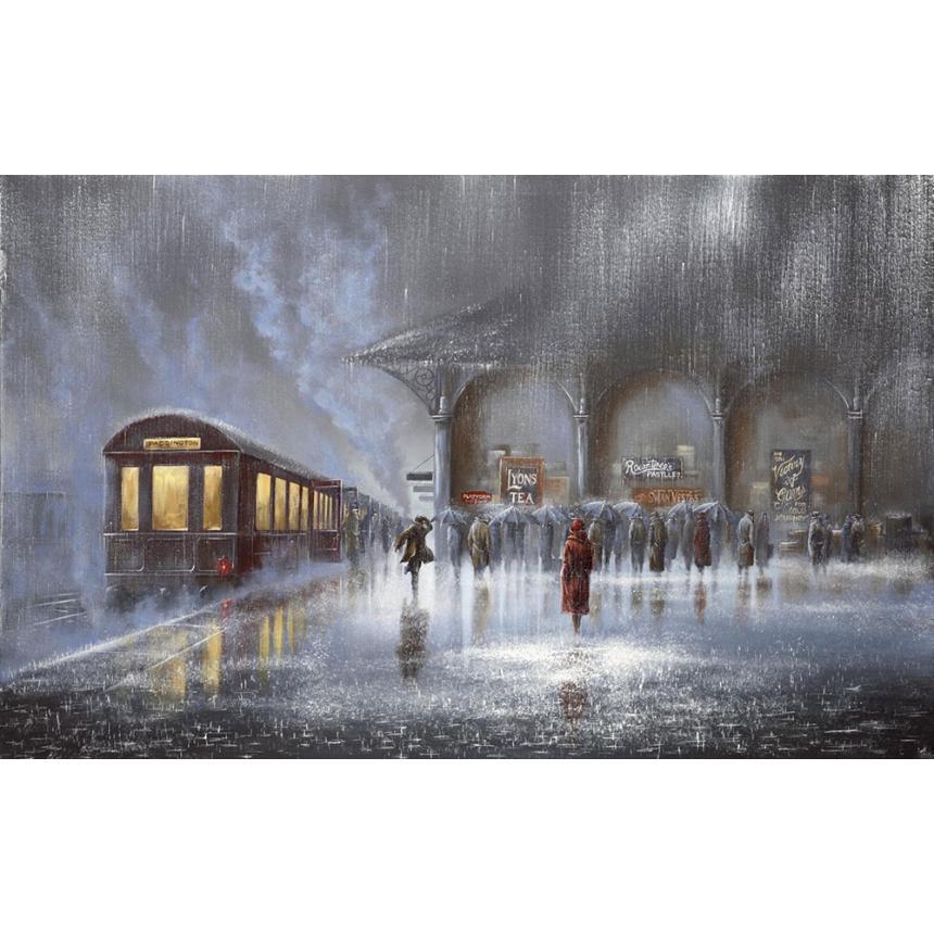 Βροχή στο Σταθμό