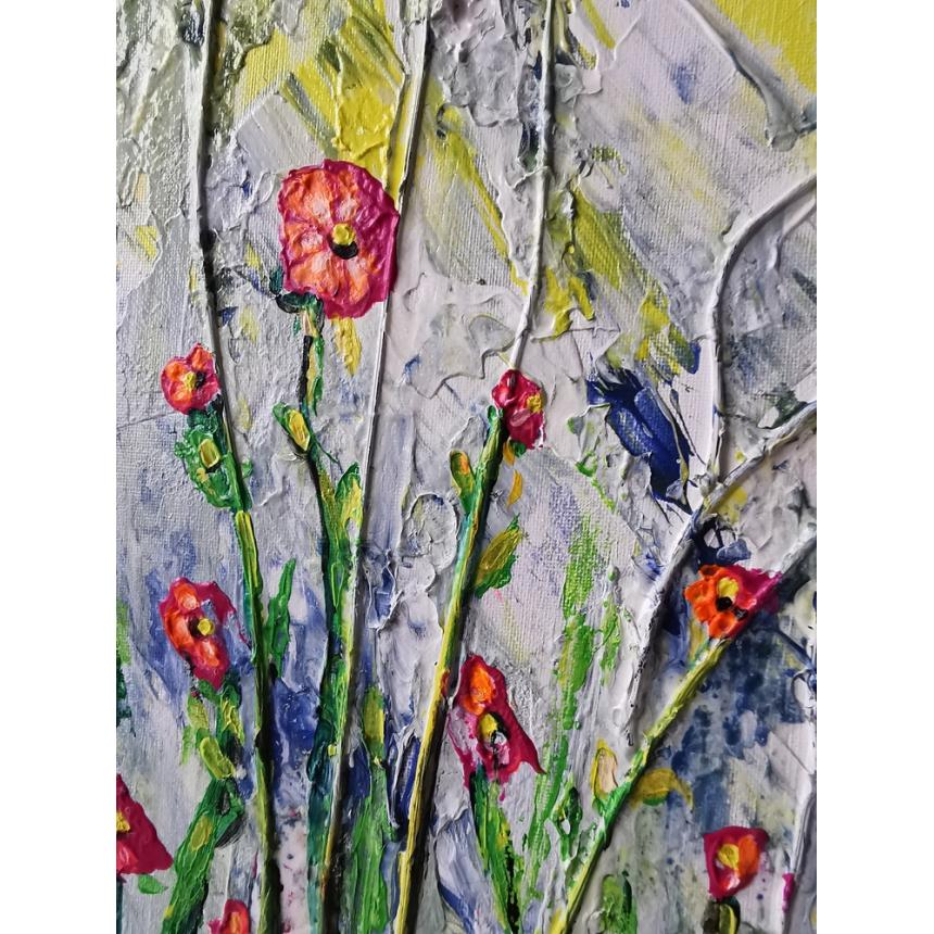 Πίνακας ζωγραφικής παπαρούνες