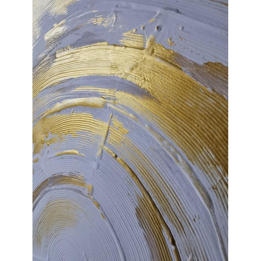 Πίνακας Abstract χρυσοί κύκλοι