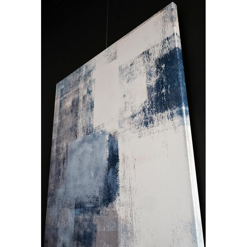 Abstract Μπλε Γκρι