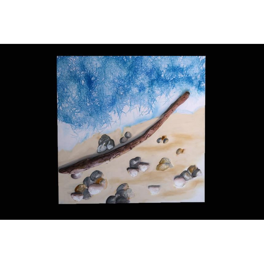 Πίνακας ζωγραφικής Στην ακροθαλασσιά 2