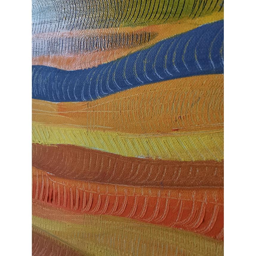 Πίνακας ελαιογραφία χρώματα Ανατολής