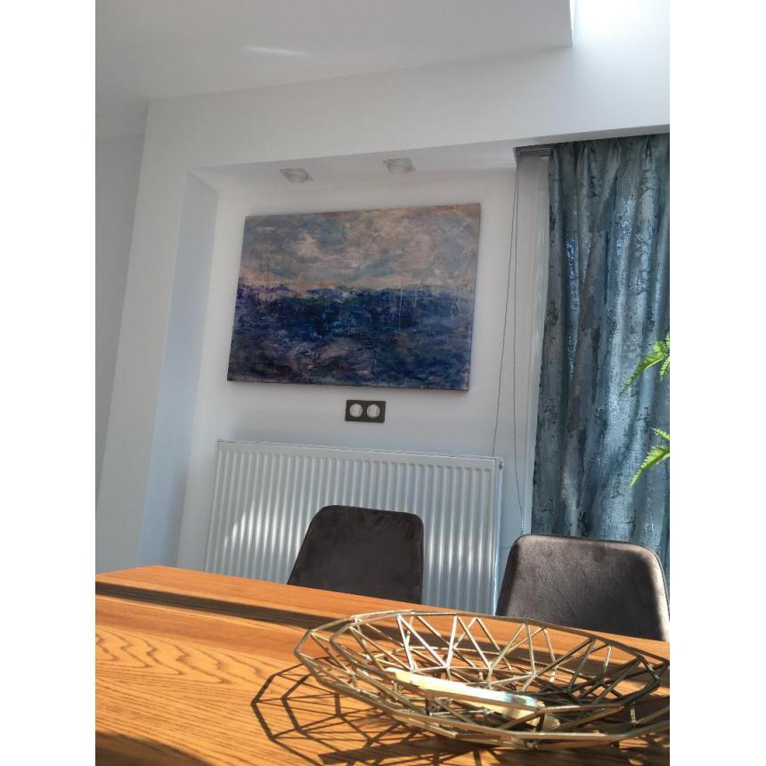 Πίνακας Abstract θάλασσα και ουρανός